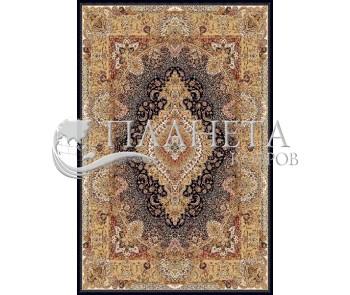Иранский ковер Marshad Carpet 3054 Black Cream - высокое качество по лучшей цене в Украине