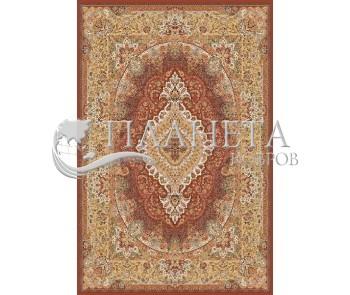 Иранский ковер Marshad Carpet 3054 Red Yellow - высокое качество по лучшей цене в Украине