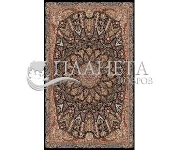 Иранский ковер Marshad Carpet 3055 Black - высокое качество по лучшей цене в Украине