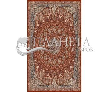 Иранский ковер Marshad Carpet 3055 Dark Red - высокое качество по лучшей цене в Украине