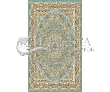 Иранский ковер Marshad Carpet 3056 Blue - высокое качество по лучшей цене в Украине