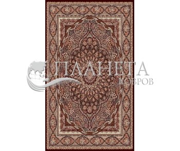 Иранский ковер Marshad Carpet 3056 Brown - высокое качество по лучшей цене в Украине