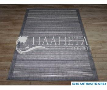 Безворсовый ковер Artisan 5045 anthracite-grey - высокое качество по лучшей цене в Украине
