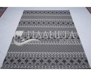 Безворсовый ковер Jersey Home 6726 wool-black-E518 - высокое качество по лучшей цене в Украине