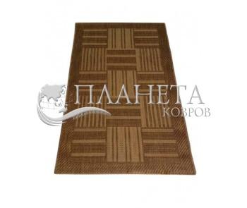 Безворсовый ковер Sisal 00041 gold-beige - высокое качество по лучшей цене в Украине