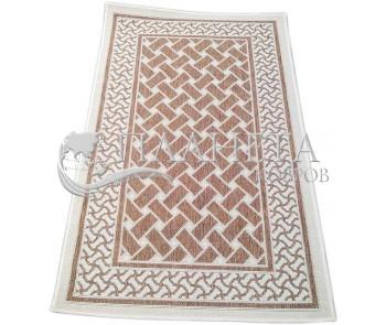 Безворсовый ковер Sisal 2163 , BROWN - высокое качество по лучшей цене в Украине