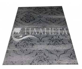 Безворсовый ковер Vintage 4627 black-fossit-grey - высокое качество по лучшей цене в Украине