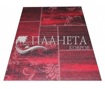 Безворсовый ковер Vintage 4814 black-witdberry red - высокое качество по лучшей цене в Украине