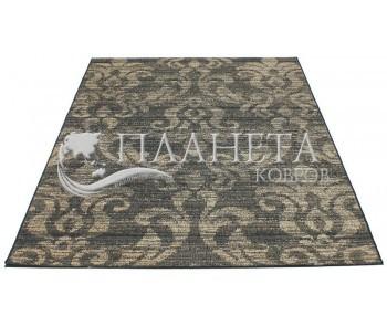 Безворсовый ковер Vintage 4822 black-dessert gold - высокое качество по лучшей цене в Украине