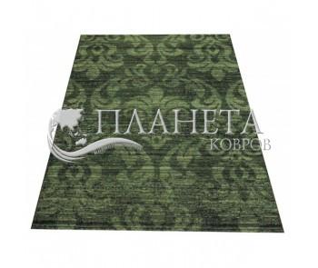 Безворсовый ковер Vintage 4822 black-bio green - высокое качество по лучшей цене в Украине