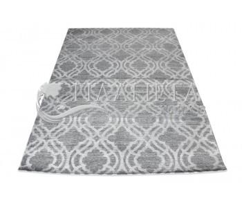 Безворсовый ковер Zela 116905-04 Grey - высокое качество по лучшей цене в Украине