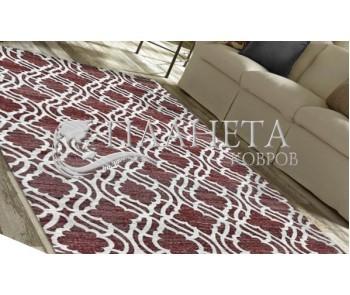 Безворсовый ковер Zela 116905-05 Red - высокое качество по лучшей цене в Украине