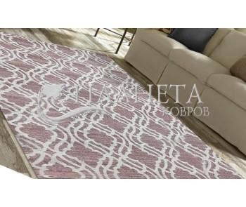 Безворсовый ковер Zela 116905-06 Pink - высокое качество по лучшей цене в Украине
