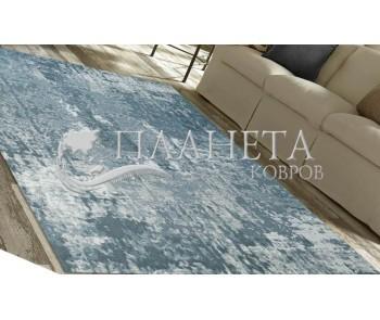 Безворсовый ковер Zela 116923-04 Grey - высокое качество по лучшей цене в Украине