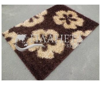 Высоковорсный ковер Cosmo Shaggy beige-brown 001 - высокое качество по лучшей цене в Украине