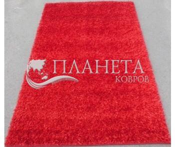 Высоковорсный ковер Cosmo Shaggy red 001 - высокое качество по лучшей цене в Украине