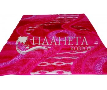 Высоковорсный ковер Decor E8752B light pink - высокое качество по лучшей цене в Украине