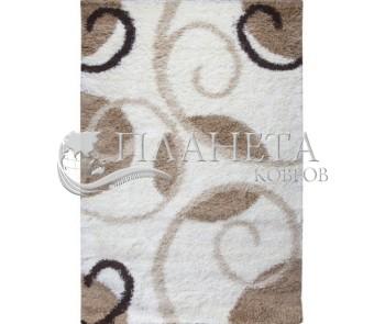 Высоковорсная ковровая дорожка First Shaggy 12277 , CREAM - высокое качество по лучшей цене в Украине