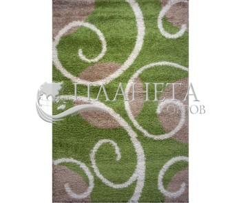Высоковорсная ковровая дорожка First Shaggy 12277 , GREEN - высокое качество по лучшей цене в Украине