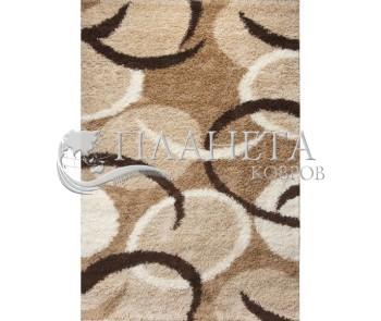 Высоковорсная ковровая дорожка First Shaggy 12288 , GOLDEN - высокое качество по лучшей цене в Украине