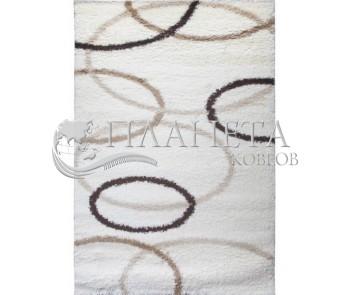 Высоковорсная ковровая дорожка First Shaggy 4006 , CREAM - высокое качество по лучшей цене в Украине