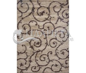 Высоковорсная ковровая дорожка First Shaggy 7810 , golden - высокое качество по лучшей цене в Украине