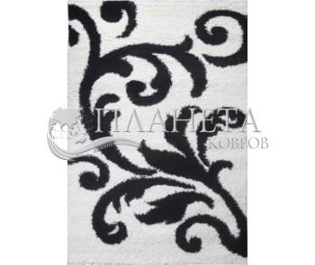 Высоковорсная ковровая дорожка First Shaggy 8432 , WHITE - высокое качество по лучшей цене в Украине
