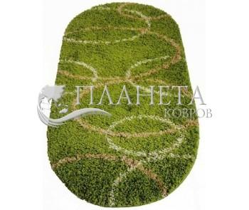 Высоковорсная ковровая дорожка First Shaggy 4006 , GREEN - высокое качество по лучшей цене в Украине