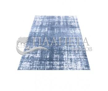 Высоковорсный ковер LOTUS 0942 BLUE-CREAM - высокое качество по лучшей цене в Украине