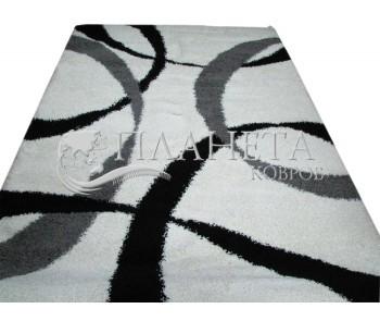 Высоковорсный ковер Loca (Super Lux Shaggy) 7368A white - высокое качество по лучшей цене в Украине