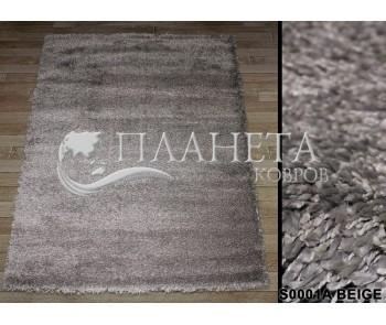 Высоковорсный ковер Super-4c S001A beige - высокое качество по лучшей цене в Украине