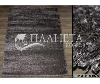 Высоковорсный ковер Super-4c S001A brown - высокое качество по лучшей цене в Украине