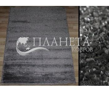 Высоковорсный ковер Super-4c S001A grey - высокое качество по лучшей цене в Украине