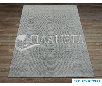 Высоковорсный ковер Times Square 4961 snow white - высокое качество по лучшей цене в Украине