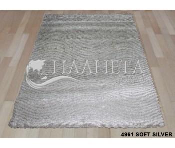 Высоковорсный ковер Times Square 4961 soft silver - высокое качество по лучшей цене в Украине