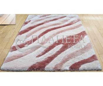 Высоковорсный ковер Tria 0219 pink - высокое качество по лучшей цене в Украине