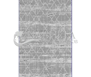 Высоковорсный ковер Troya V489B Coken  Gray - высокое качество по лучшей цене в Украине