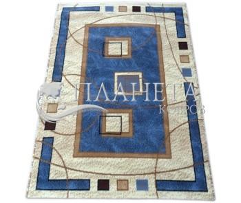 Синтетический ковер Amber 0459A mavi-mavi - высокое качество по лучшей цене в Украине