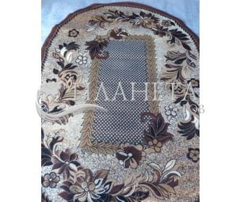 Синтетический ковер Amber 3516A Beige-Kahve - высокое качество по лучшей цене в Украине