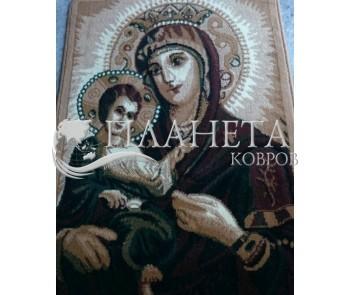 Синтетический ковер Amber 0343A Beige-Kahve - высокое качество по лучшей цене в Украине