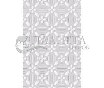 Иранский ковер Black&White 1723 - высокое качество по лучшей цене в Украине