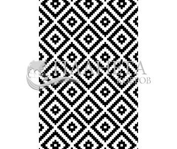 Иранский ковер Black&White 1738 - высокое качество по лучшей цене в Украине