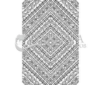 Иранский ковер Black&White 1739 - высокое качество по лучшей цене в Украине