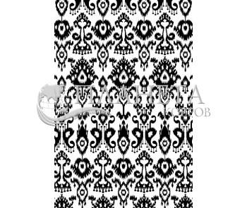 Иранский ковер Black&White 1741 - высокое качество по лучшей цене в Украине