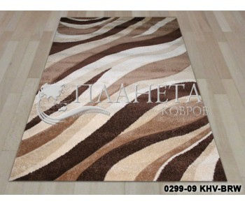 Синтетический ковер California 0299-09 KHV-BRW - высокое качество по лучшей цене в Украине