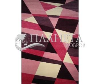 Синтетический ковер Carving 8417A pink - высокое качество по лучшей цене в Украине