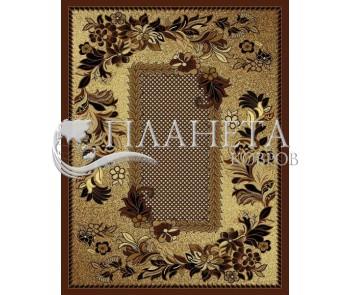 Синтетический ковер Diana 3516 brown - высокое качество по лучшей цене в Украине