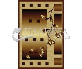 Синтетический ковер Diana 3743 brown - высокое качество по лучшей цене в Украине