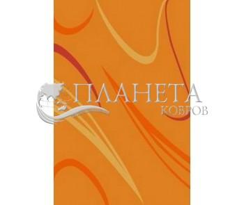 Синтетический ковер Elana 4882 orange-yellow - высокое качество по лучшей цене в Украине