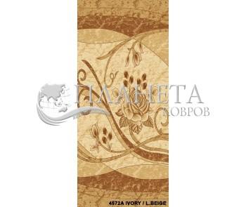 Синтетический ковер Festival 4572A ivory-l.beige - высокое качество по лучшей цене в Украине